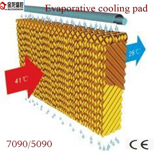 JINLONG - Model 7090  type  - 7090 type  evaporative cooling  cellulose  pad