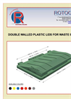 ROTOGRAN - Double Walled Plastic Lid for Waste Bins and Containers 660 and 770 Litres - Brochure