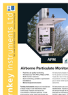 Model APM 3000 - Airborne Particulate Monitor Brochure