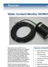 Teconer - Model WCM411 - Water Content Monitor Brochure