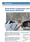 Teconer - Model RTD 411SA - Road Surface Temperature and Dew Point Sensor Brochure
