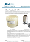 SANI Membranes - Model HP 1 - Free Flow Plate Modules - Brochure