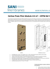 Sani Membranes - Model HPPM 06/12 - Free Flow Plate Pilot Modules - Brochure