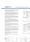 Vibro-Acoustics - Model L - Benchtop Filtration System - Brochure