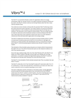 Vibro - Model I - Industrial Filtration System - Brochure