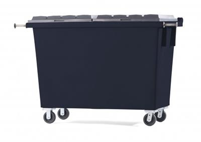 Hedstrom - 1.5 Yard Rear Loader Poly Waste Container
