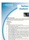 American Ecotech - Model Serinus Series - Gas Analyzers - Brochure