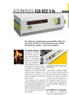 Eco Physics - Model CLD 822 S hr - NO and Nox Analyzers - Brochure