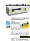 Eco Physics - Model CLD 824 MM dr - NOx Analyzers - Brochure