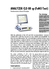 Analyzer CLD 88 sp (FeNO Test) - Chemiluminescence reference NO-analyzer - Brochure