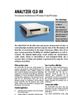 ANALYZER CLD 88 Fast And Precise Chemiluminescence NO-Analyzer For Liquid NO Analysis - Brochure