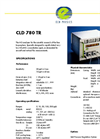 Eco Physics - Model CLD 780 TR - Tropospheric Research Gas Analyzer - Datasheet