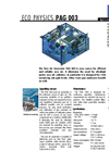Eco Physics - Model PAG 003 - Pure Air Generator - Datasheet