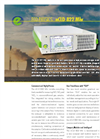 Eco Physics - Model nCLD 822 Mhr - Modular Gas Analyzer - Datasheet