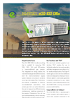 Eco Physics - Model nCLD 822 CMhr - Modular Gas Analyzer - Datasheet