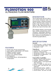 Flomotion Systems - 900 - Open Channel Flow Measurement System DataSheet