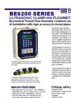Flomotion Systems - BE6200 Series - Ultrasonic Clamp-On Flowmeter DataSheet
