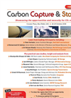 Carbon Capture and Storage Brochure