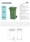 Model C90 - Rear Loading Containers Brochure