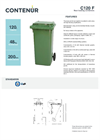 Model C120 F - Rear Loading Containers Brochure