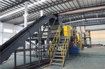 SUNY GROUP - Fully-Automatic Tyre Recycling Line