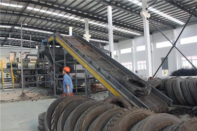 SUNY GROUP - Tyre Powder Production Line