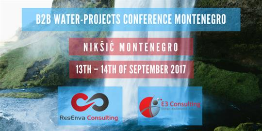 B2B Water Project Conference and Meetings in Montenegro