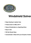 Windshield Solvent Brochure