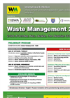 Waste Management 2018 in Glance