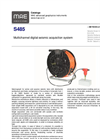 MAE - Model S485 - Multichannel Digital Seismic Acquisition System - Datasheet