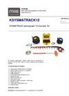 MAE - Model KSYSMATRACK12 - Seismograph 12 Channels Kit - Datasheet