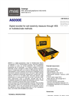 MAE - Model A6000E - Digital Georesistivity Meter for Multielectrode Electric Tomography - Datasheet