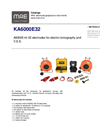 MAE - Model KA6000E32 - Electrodes Resistivity Kit - Datasheet