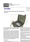 MAE - Model X612EM+ - VHR Multichannel Resistivimeter 48-72-96 Embedded Channels - Datasheet