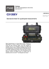 MAE - Model C313SEV - Georesistivimeter for Quadrupole Measurements - Datasheet