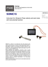 MAE - Model SONIC15 - Ultrasonic Pulse Velocity and Sonic Tests - Datasheet