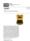 MAE - Model A5000T - Measure of Soil Thermal Conductivity - Datasheet