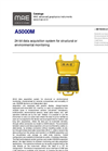 MAE - Model A5000M - 24-Bit Data Acquisition System for Structural or Environmental Monitoring - Datasheet