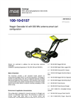 Model 100-10-0157 - Noggin Georadar Kit with 500 Mhz Antenna Smart Cart Configuration - Datasheet