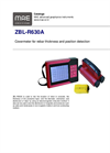 Model ZBL-R630A - Covermeter for Rebar Thickness and Position Detection - Datasheet