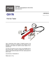 Model C0178 - Pull-Out Tester - Datasheet