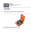 Model T0175A - Shear Hand Vane Tester for Field and Laboratory Use - Datasheet