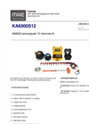MAE - Model KA6000S12 - Seismograph 12 Channels Kit - Datasheet