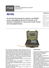 MAE - Model X610S - 24 Channels Seismograph for Refraction and MASW Survey - Datasheet