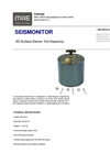 Model SEISMONITOR - 3D Surface Sensor 1Hz Frequency - Datasheet
