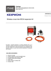 MAE - Model KEXPWCH4 - Wireless Cross-Hole Expansion Kit - Datasheet