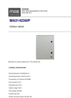 Model MA314236IP - Outdoor Cabinet - Datasheet
