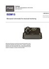 MAE - Model ISSM15 - Monoaxial Inclinometer for Structural Monitoring - Datasheet