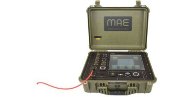 MAE - Model X610S - 24 Channels Seismograph for Refraction and MASW Survey