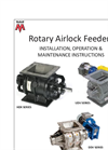 Rotary Airlock Feeders - Installation, Operation & Maintenance Instructions Manual